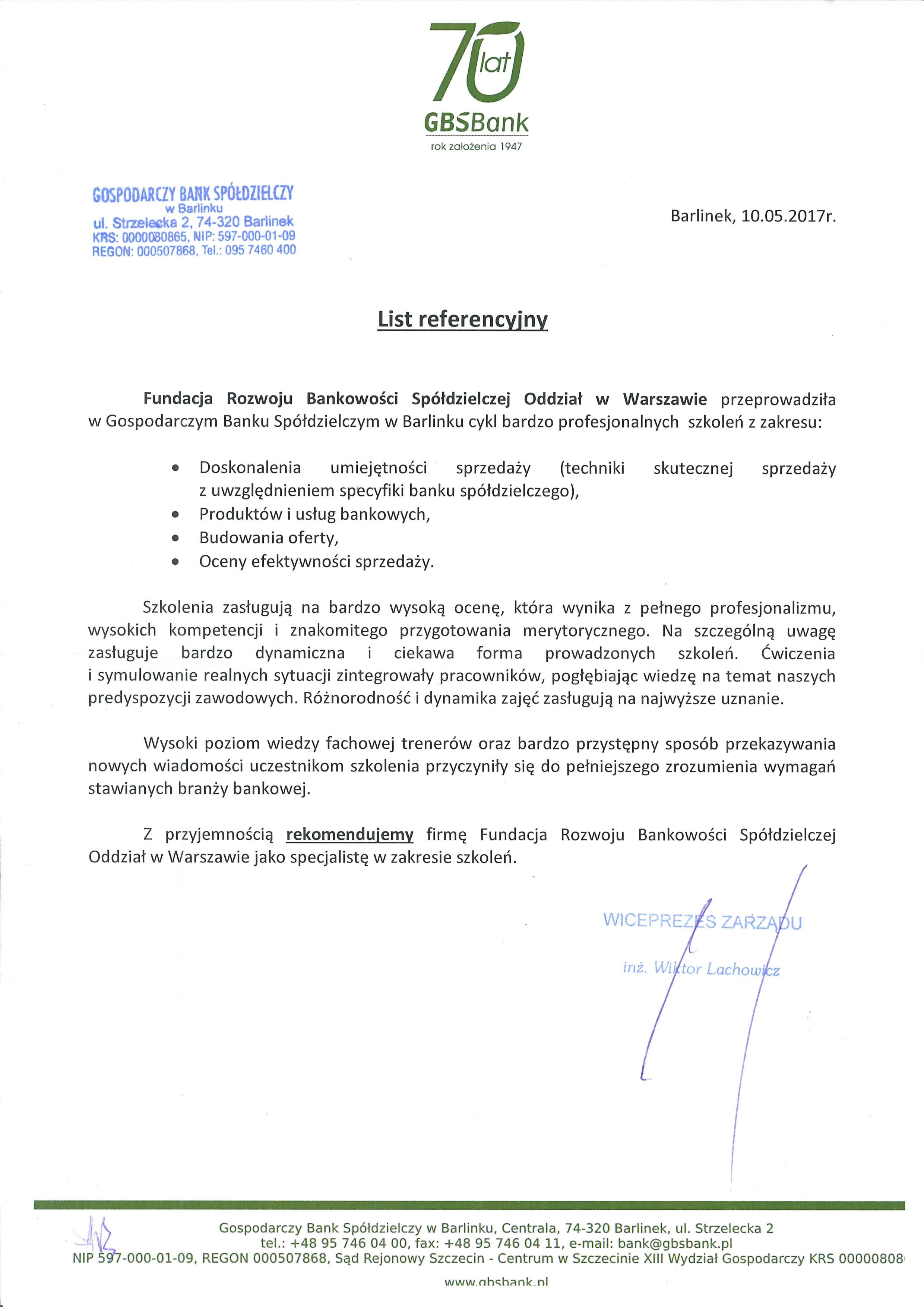 Referencje Barlinek